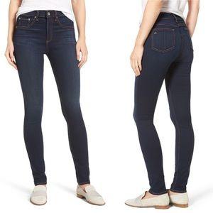 [Rag & Bone] Nina High Waist Skinny Jeans